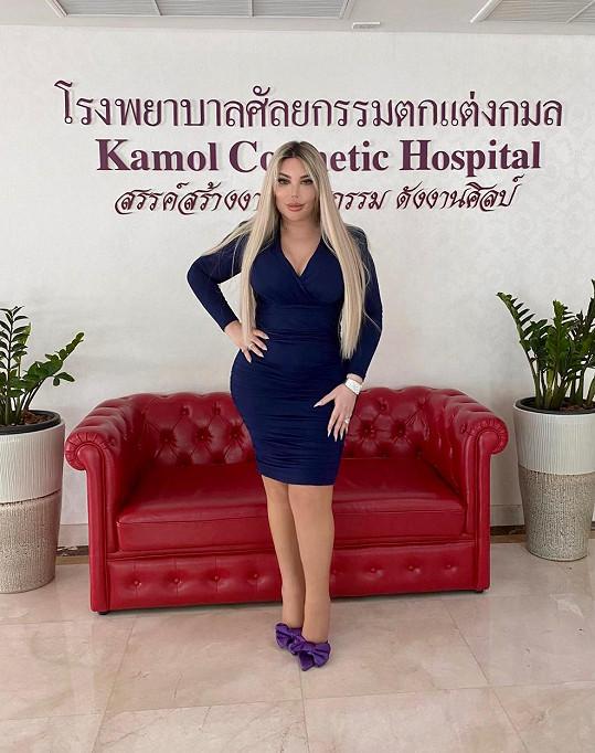 Za změnou pohlaví Jessica odcestovala do Thajska.