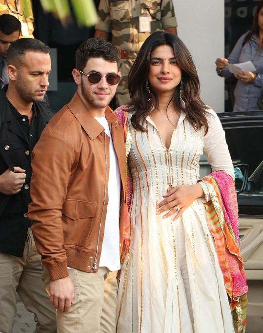 Priyanka Chopra a Nick Jonas budou brzy manželé.