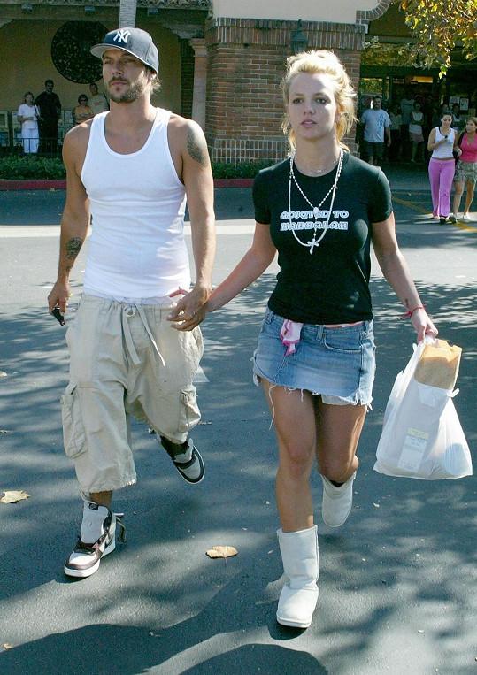 Takhle vypadal v době, kdy randil s Britney.