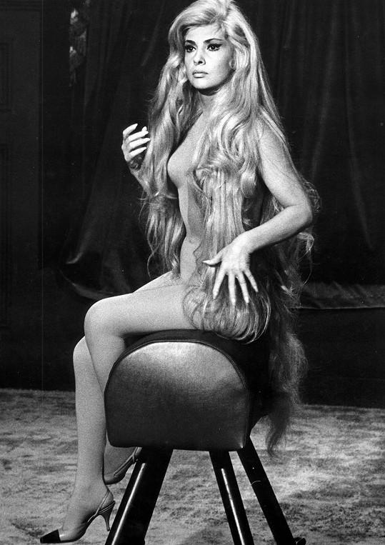 Gina Lollobrigida na odvážné fotce.