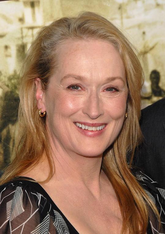Meryl Streep má na kontě tři Oscary.