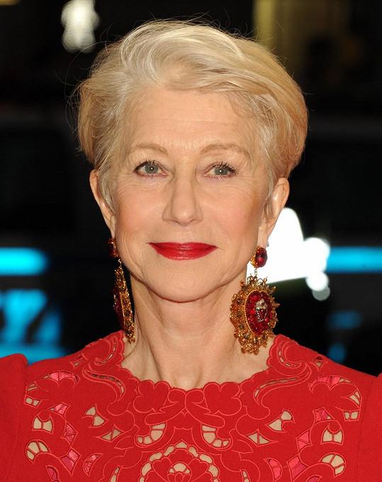 Helen Mirren dnes