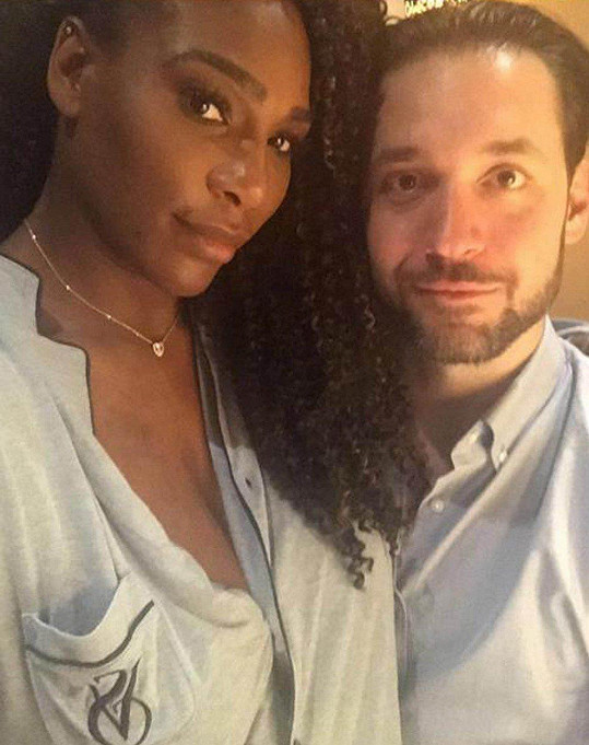 Serena Williams a Alexis Ohanian