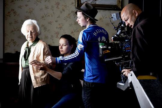 Na natáčení spotu se Táňa přišla v červnu podívat.