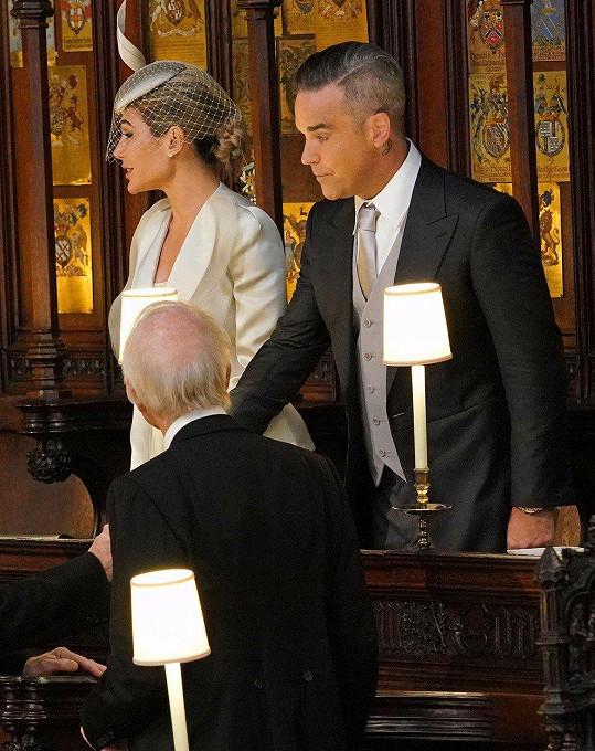 Na královské svatbě nemohli chybět.