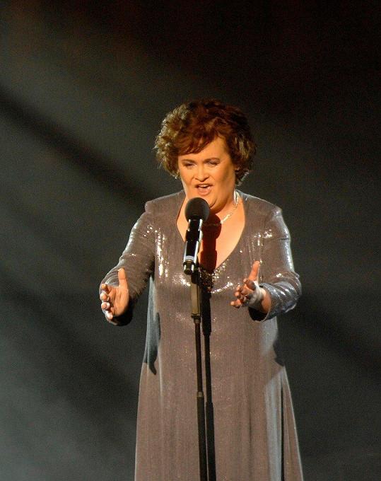 Susan se proslavila svými výkony v britském Talentu.