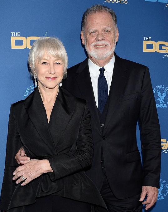 Helen Mirren s manželem Taylorem