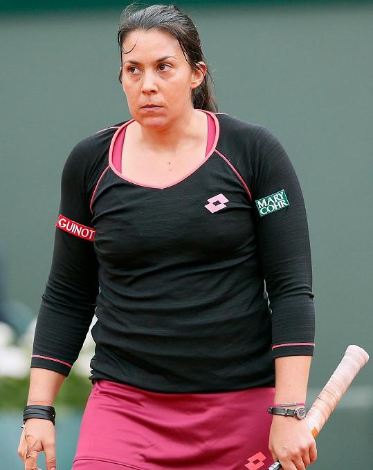 Marion na French Open v květnu 2013