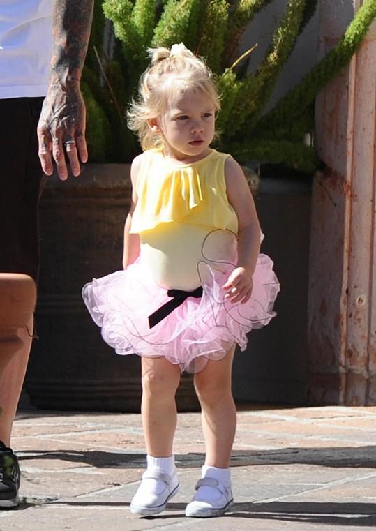 Maminkou princezny Willow je zpěvačka Pink.