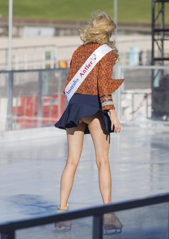 Čerstvě korunovaná Miss Universe Australia si odbyla první roztomilý trapas.