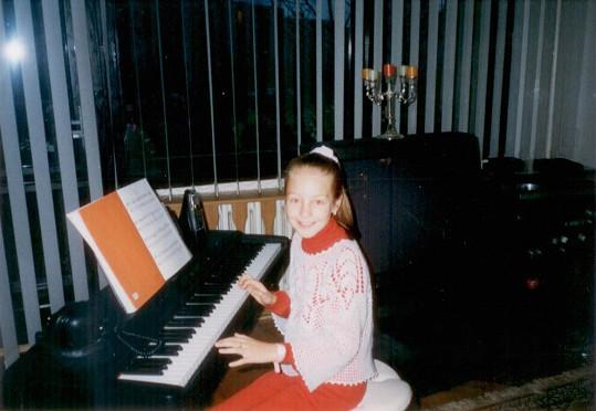 ...i na klavír