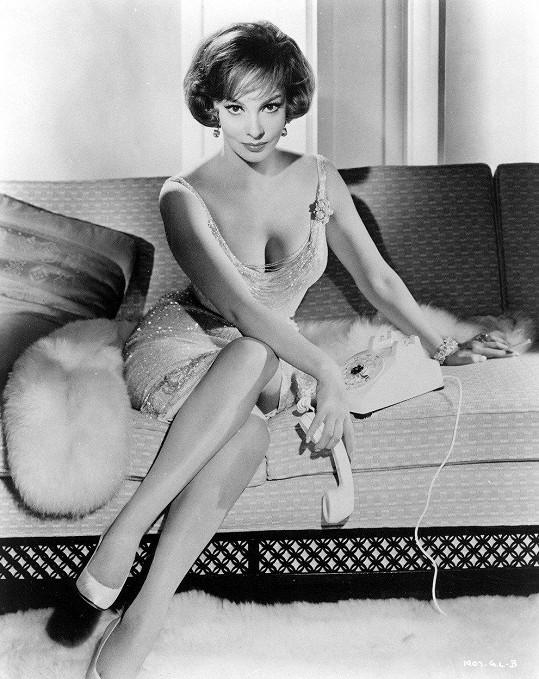 Gina na archivním snímku z roku 1961