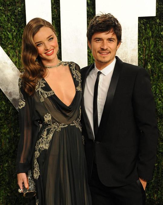 Orlando Bloom má s exmanželkou Mirandou Kerr skvělý vztah.
