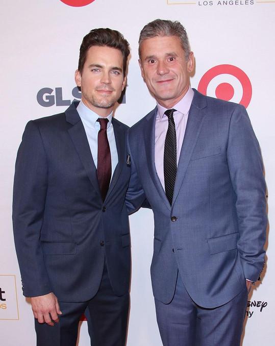 Matt a Simon spolu vychovávají tři syny.