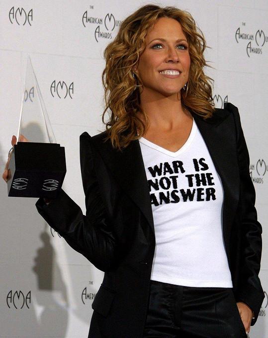 V roce 2003 na American Music Awards
