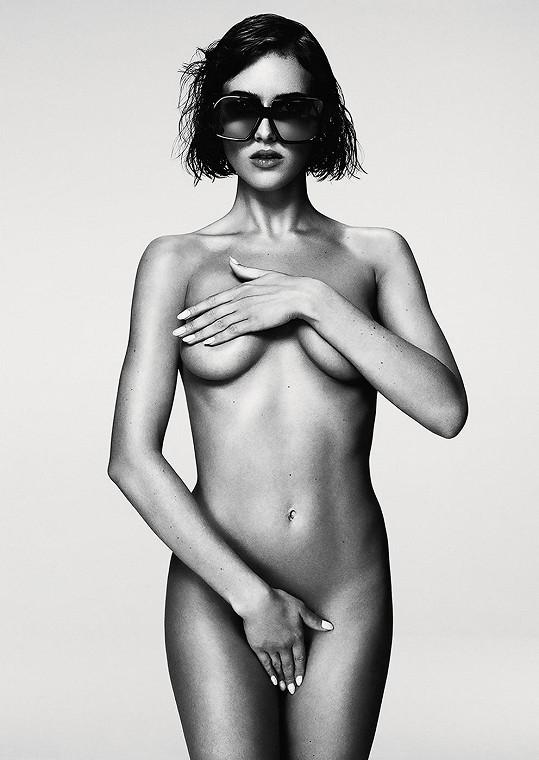 Anglická modelka se stala tváří řady slunečních brýlí.