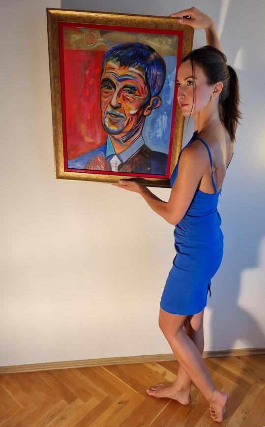 Přes dvacet obrazů bude vystavovat v Obecním domě.