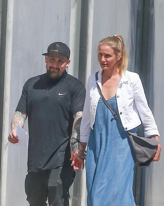 Diaz a Madden jsou spolu vidět už převážně jen doma v Kalifornii.