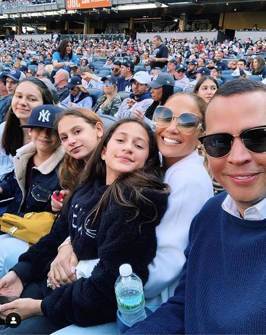Rodriguez si naopak čas s rodinou užívá plnými doušky.