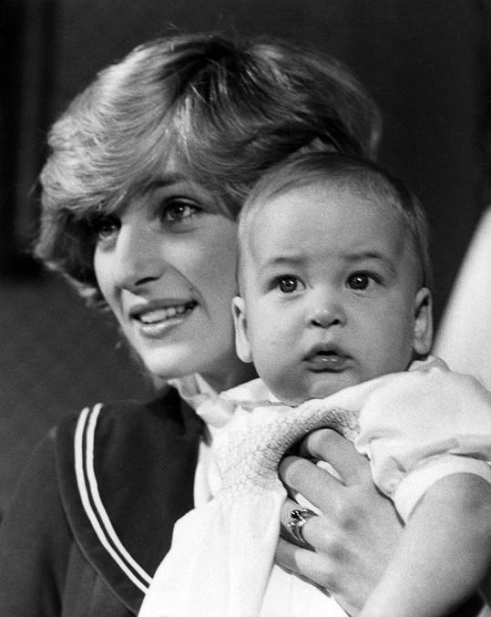 William byl stejně roztomilý, jako je dnes Charlotte.