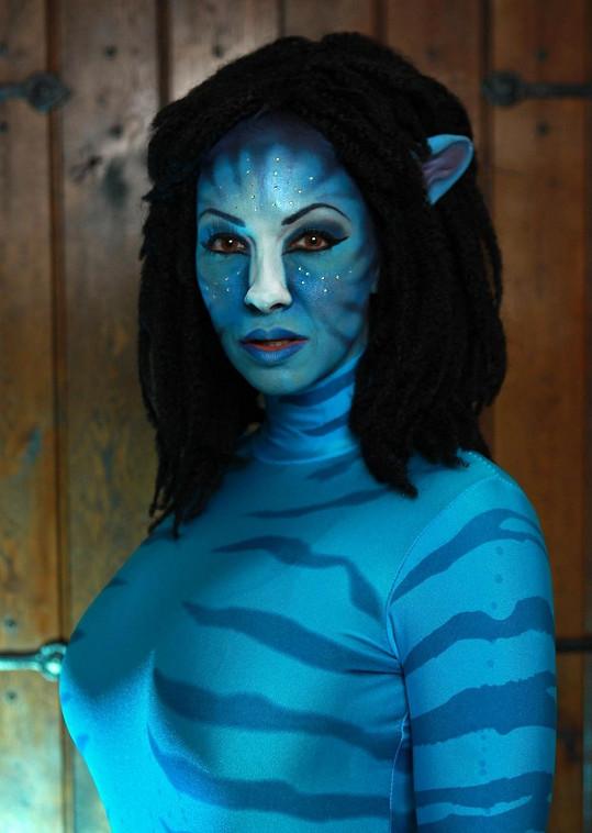 Jodie Marsh měla dokonalý make-up.