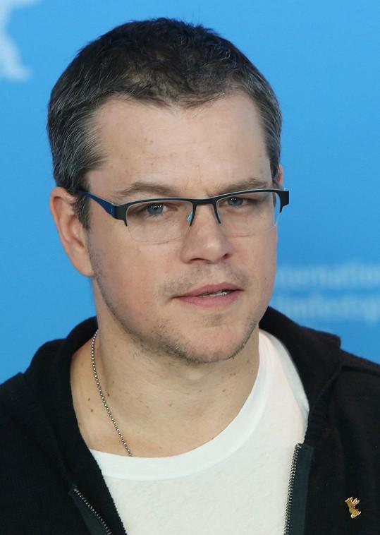 Matt Damon v postavení prodejce nemovitosti.