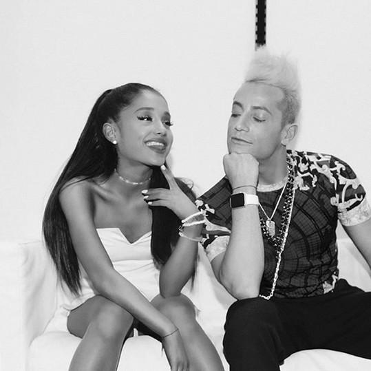 Frankie a Ariana Grande