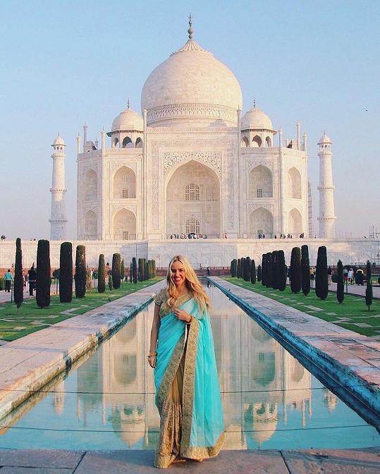 Ať už cestuje do Indie...