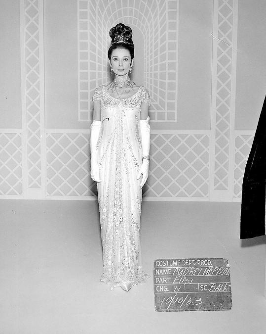 Tyto šaty Audrey byly předlohou.