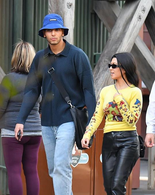Kardashian naposledy randila s modelem Younesem Bendjimou.