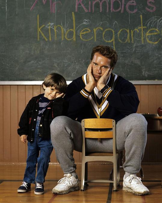 Arnold Schwarzenegger jako Policajt ze školky