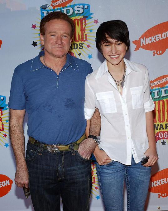 O smutku ví své. Před šesti lety pohřbila otce Robina Williamse.