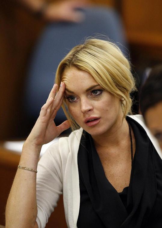 Lindsay Lohan přišla o své intimní fotky.