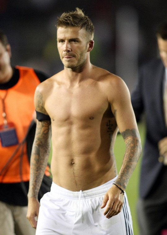 Kérkami se zase chlubí fotbalista David Beckham.