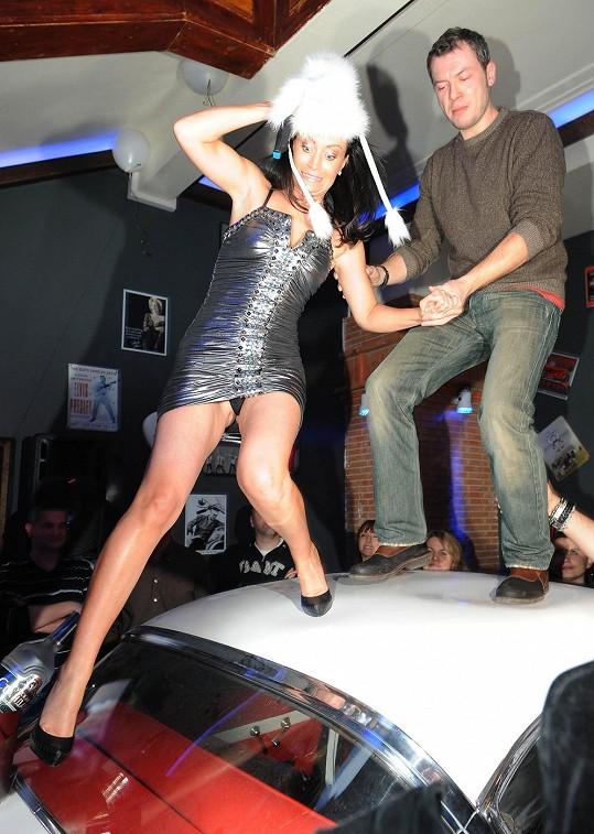 Gábina Partyšová ukázala, jaké nosí kalhotky.