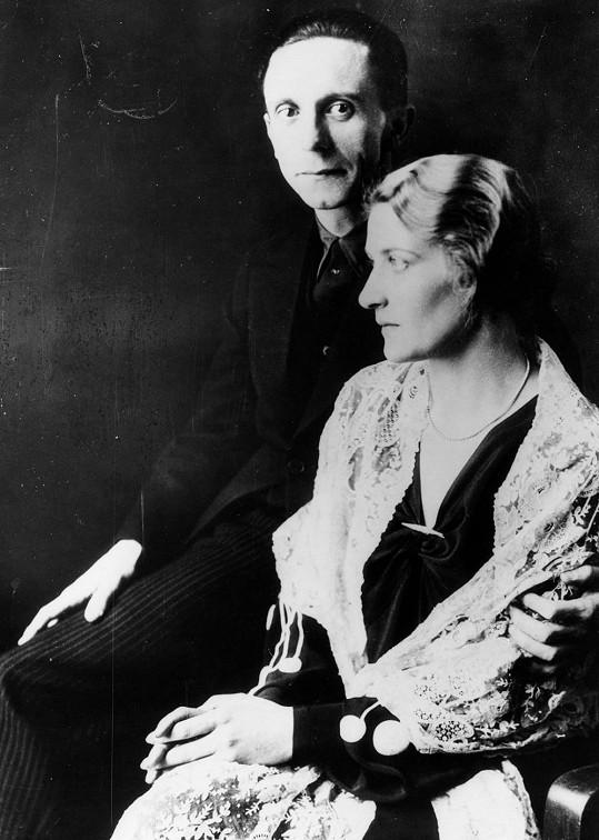 Magda Goebbelsová svému muži románek s českou herečkou chvíli tolerovala...