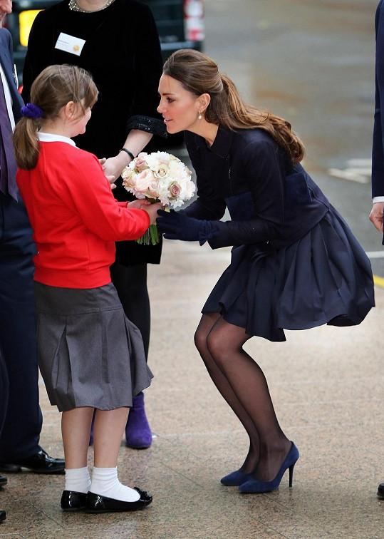 Obě princezny spojuje láska k dětem a vřelé vystupování.