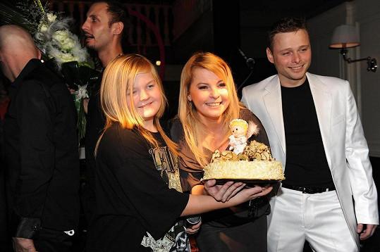 Jarek s Ivetou a jejím synem Arturem