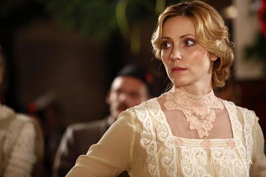 Markéta si v seriálu zahraje Kláru Valentovou-Léblovou.