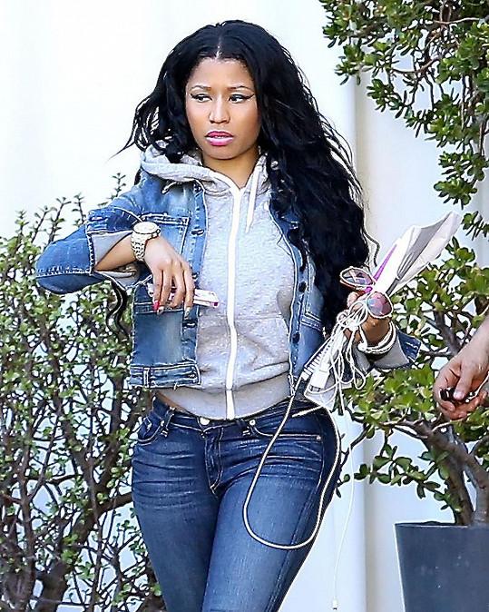 Nicki Minaj to nevychytala.