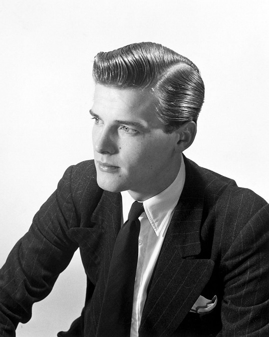Roger Moore na konci čtyřicátých let