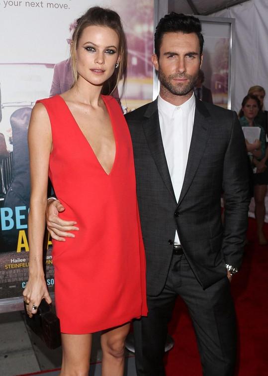 Adam Levine a jeho krásná manželka Behati Prinsloo