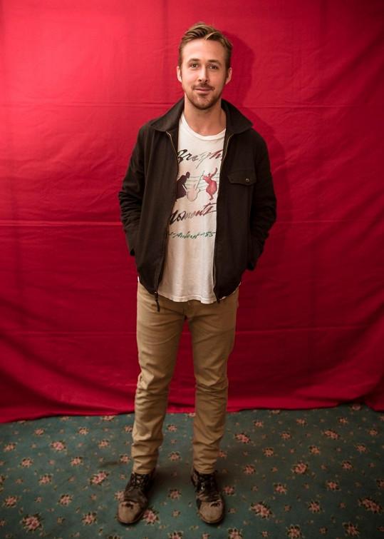 Ryan Gosling hodlá na čas seknout s herectvím.