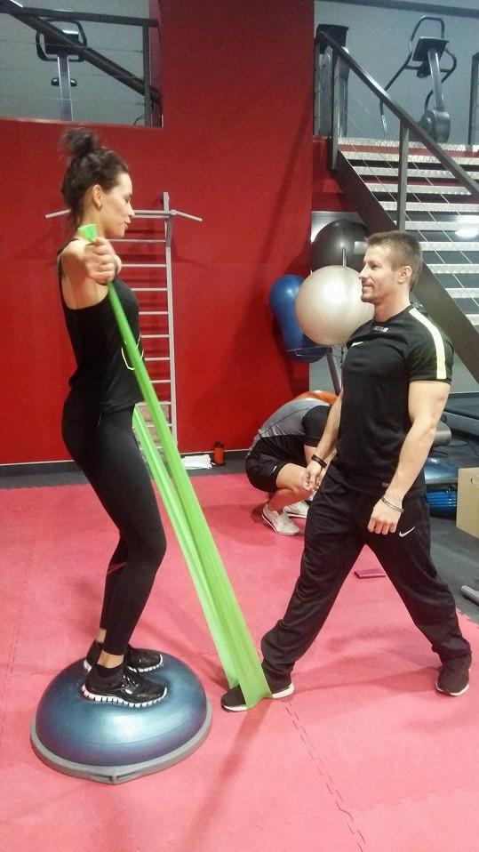 Votavová se snaží zbavit svalové hmoty.