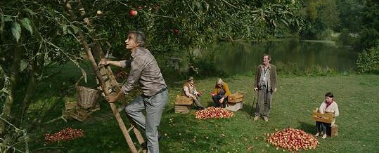 Režisér využil krásné podzimní počasí.