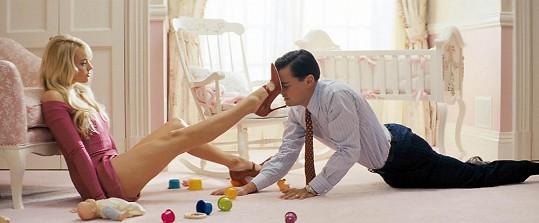 Margot Robbie si v dramatu Vlk z Wall Street zahrála manželku Leonarda DiCapria.