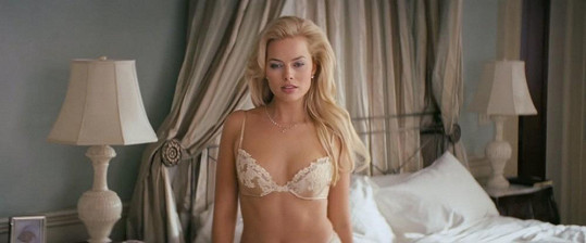 Margot Robbie ve filmu Vlk z Wall Street