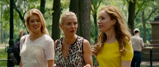 Ve filmu Jedna za všechny se objeví kromě Kate a Cameron Diaz i Leslie Mann.