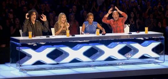 Všichni čtyři budoucí porotci soutěže America's Got Talent.