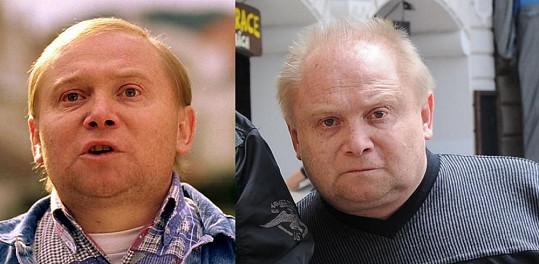 Honzík Hlaváč alias Hezký v roce 2003 a dnes